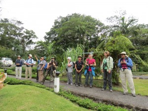 2015 Costa Rica Tour participants, one of the benefits of membership.