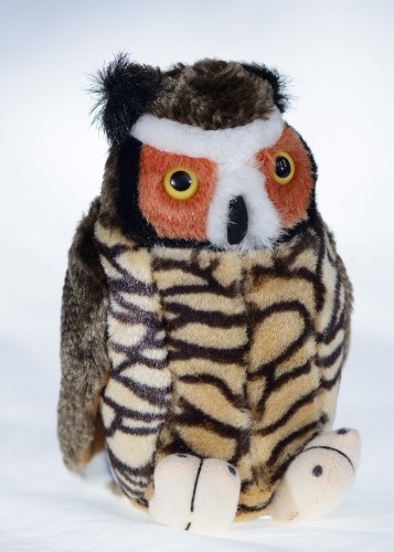 Great Horned Owl plush
