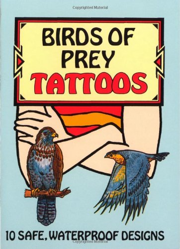 Birds of Prey Tattoo book