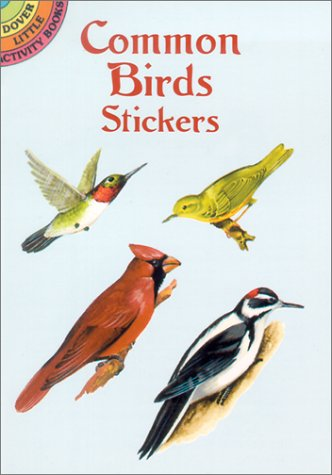 Common Birds Sticker Book