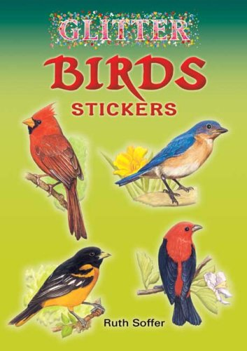 Glitter Birds Sticker Book