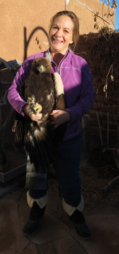 Lisa Morgan, Raptor Rescue Coordinator