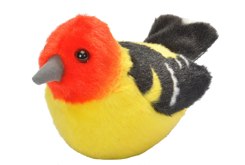 Western Tanager plush