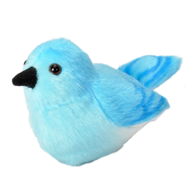 Mountain Bluebird plush